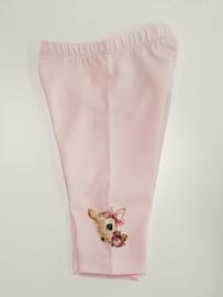 Monnalisa, roze legging met Bambi