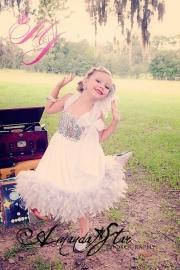 Ritz Glitz & Glamour Stunning Girls Feather Dress