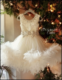 Frosted Perfection Dress...The perefct Flowergirl Dress