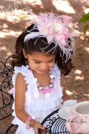 Haarband voor Angel Super Cute Silk Lace Pettiromper