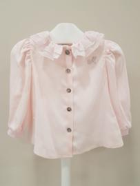 Monnalisa, roze blouse