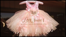 """""""Romeo & Juliette""""... A Satin Girls Feather Dress Made For A Fairytale"""