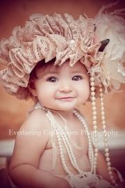 """""""Blushing Belle""""...An Adorable Lace Bonnet"""