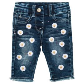 Monnalisa, spijkerbroek met Daisy's