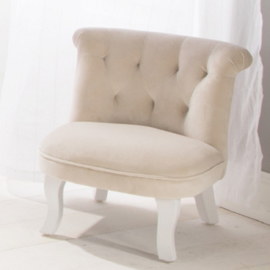Nanan, fauteuil beige