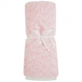 Mayoral, roze fake fur dekentje
