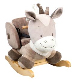 Nattou, beige schommelpaard Noa