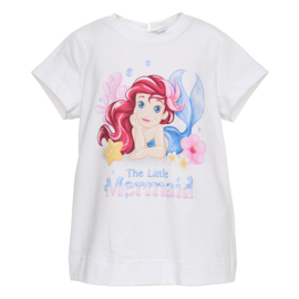 Monnalisa, wit shirtje Ariel