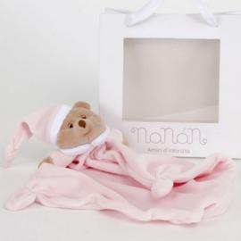 Nanan, Puccio doudou roze