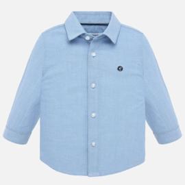 Mayoral, blauw overhemd