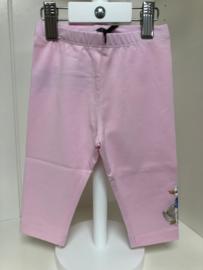 Monnalisa, roze legging met gansjes
