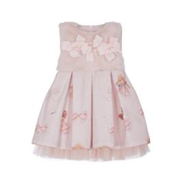 Lapin House, roze jurk met bontje