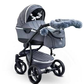 First, Atlanta City Baby Car, jeans blauw
