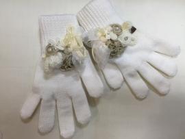 Creme handschoenen