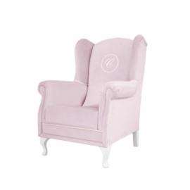 Caramella, roze fauteuil