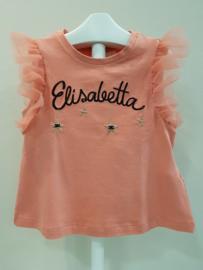 Elisabetta Franchi, koraal shirt