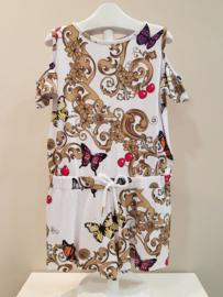 Liu Jo, witte jumpsuit met vlinders