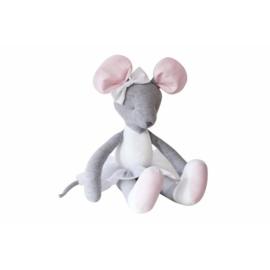 Caramella, roze/grijze muis