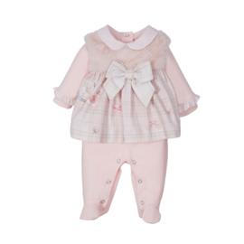 Lapin House, roze babypakje met  strik