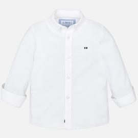 Mayoral, wit overhemd