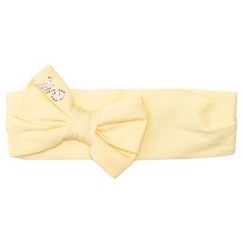 Monnalisa, gele haarband met strik