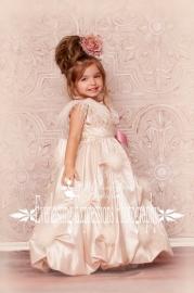 Princess Puff Flower Girl Dress