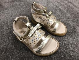 Liu Jo, gouden sandalen met strass