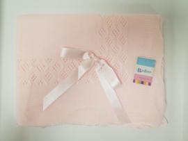 Vistiendo Bebes, roze deken 752
