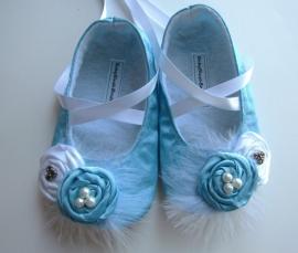 Tiffany Inspired Ballerina Slippers