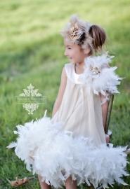 Oh So Pretty Girls Chiffon Dress