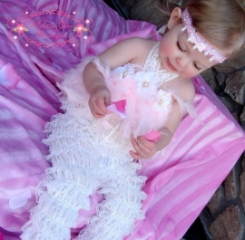 Haarband voor Dainty Cute Fluffy Petti Romper Pants