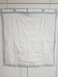 Patachou, wit/licht blauw pakdoek