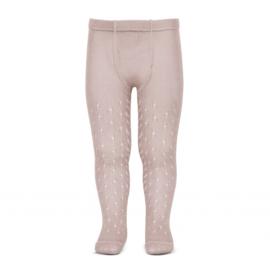 Condor, oud roze opengewerkte maillot