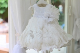 So Pure Full Feather Baby Dress