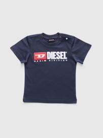 Diesel, donkerblauw shirt