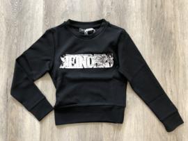 Reinders, zwarte sweater Wording