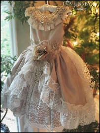 """""""Memories of Madrid""""... An Exquisite Shantung & Lace Gown"""