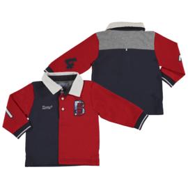 Mayoral, rood/blauwe polo