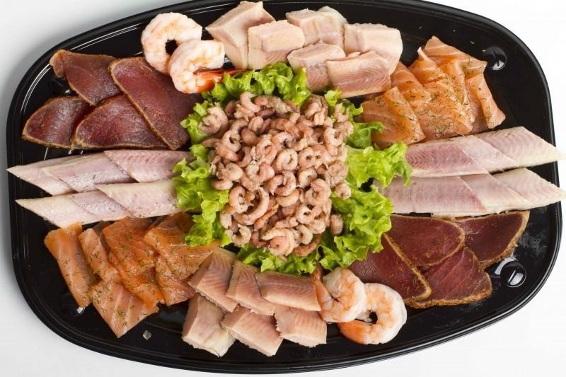 Luxe visschotel zonder salade