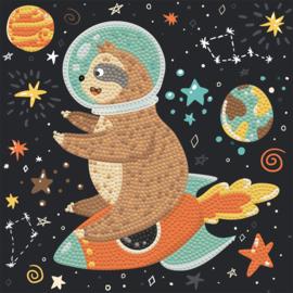 Diamond Dotz Sloth Rocket
