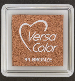 VersaColor Small Inktpad small Bronze