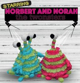 Norbert and Norah papieren patroon