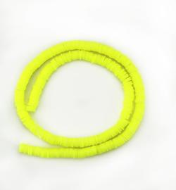 Katsuki beads 6 mm. neon yellow