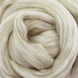 Lontwol ongeverfd 50 gram  - 484 Merino beige blend