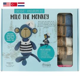 Tuva Amigurumi haakpakket Milo the Monkey