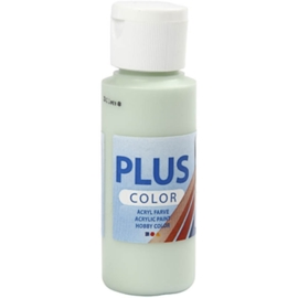 Plus color Verf 60 ml. lente groen