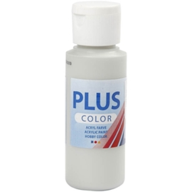 Plus color Verf 60 ml. licht grijs