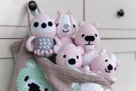 Little Woodland vriendjes roze