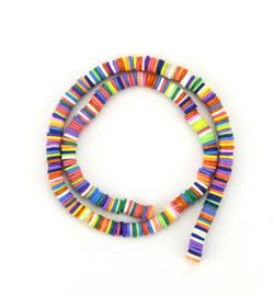 Katsuki beads 6 mm. rainbow
