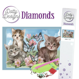 Diamond painting Dotty Design Cats